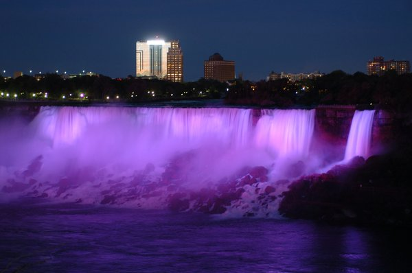 Niagara Falls by sunset thumbnail