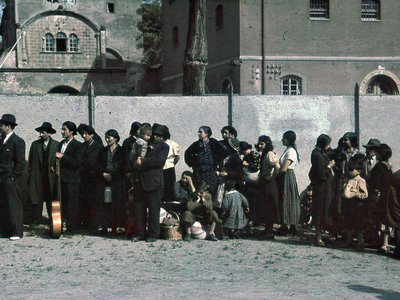 The Nazis persecuted and murdered Roma people across Europe.