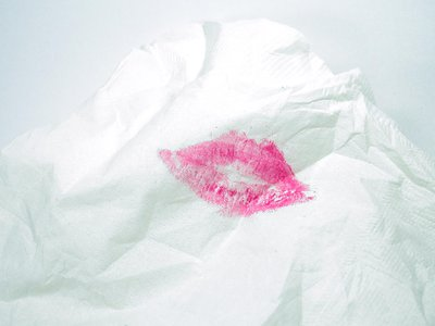 """Bishop's long-lasting lipstick was advertised as """"kissable."""""""