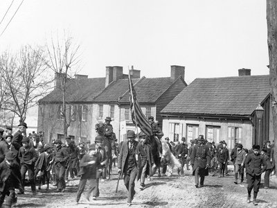 Members of Coxey's Army, 1894