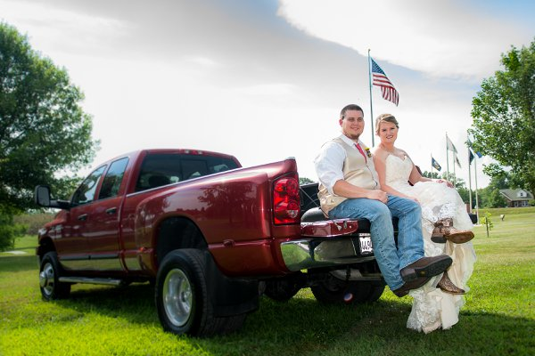 A Wedding, a Pickup Truck, and the Flag thumbnail