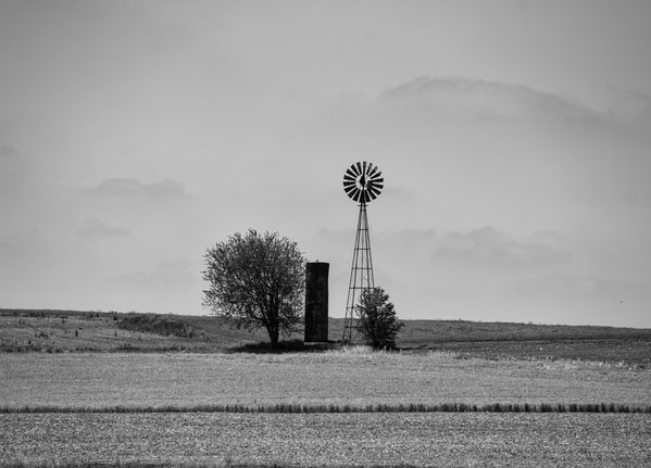 Windmill I spotted while in the  Amish community thumbnail