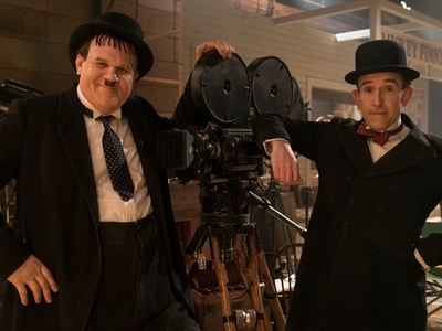 John C. Reilly stars as Oliver Hardy, and Steve Coogan stars as Stan Laurel in the new release.