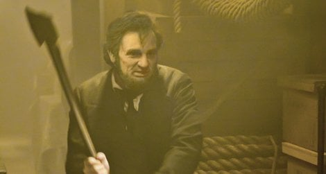 Benjamin Walker as Abraham Lincoln: Vampire Hunter.