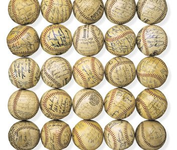 Autographed baseballs National Museum of American History