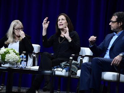 """""""And I persevered,"""" says curator Debra Diamond of her find that lead to new scholarship, at the the TV Critics Association winter press tour."""