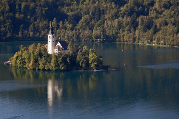 Bled Island on Lake Bled thumbnail