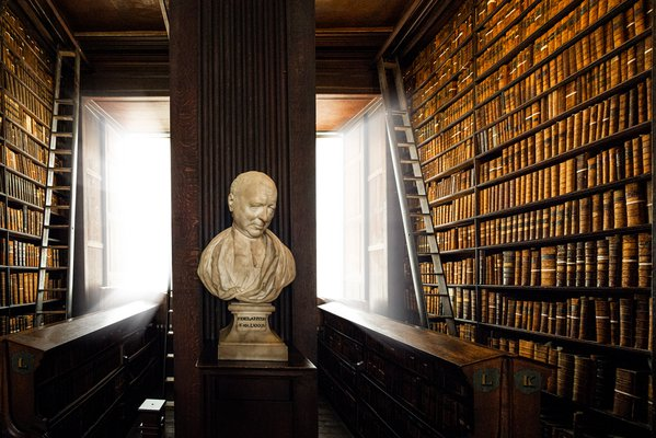 Bust of Patrick Delany, Trinity College thumbnail