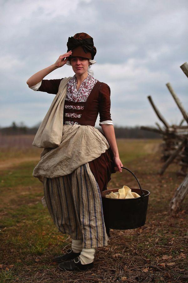 American Revolution Female Camp Follower thumbnail