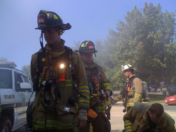 Training at the firehouse thumbnail