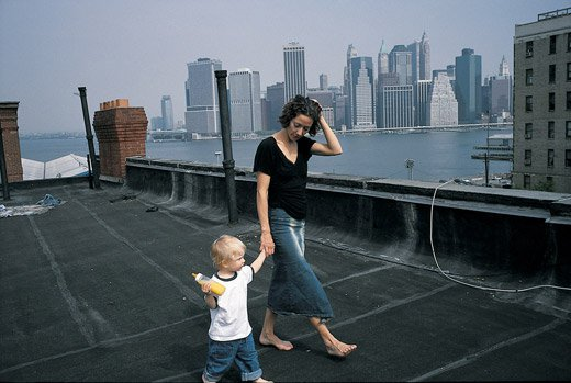 September 11 From a Brooklyn Rooftop