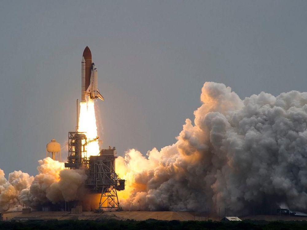 last shuttle launch