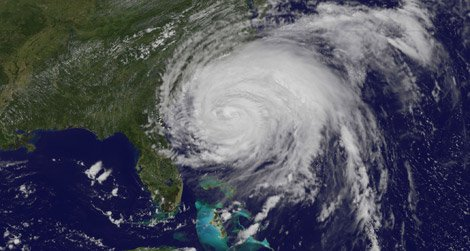 Hurricane Irene makes landfall.