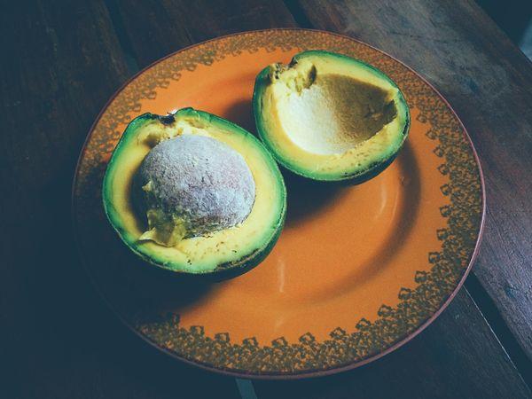 Freshly sliced avocado thumbnail