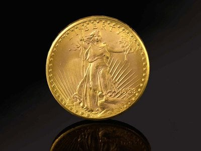 """The newly auctioned gold coin is the only 1933 """"Double Eagle"""" legally held in private hands."""