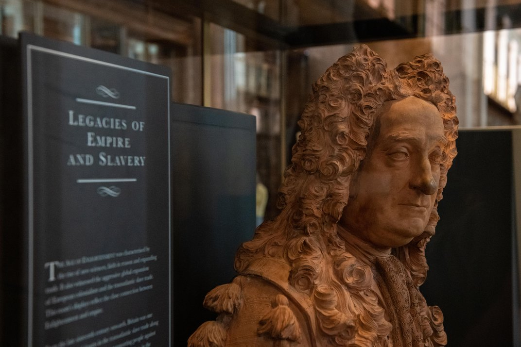British Museum Moves Bust of Founder, Who Profited From Slavery
