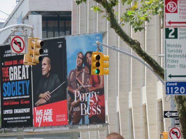 Lincoln Center, NY, Amsterdam entrance thumbnail