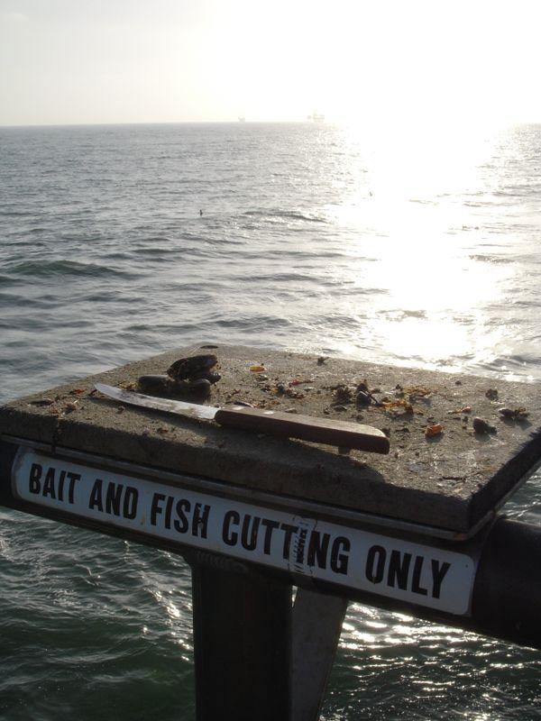 Bait and tackle at Huntington Beach thumbnail