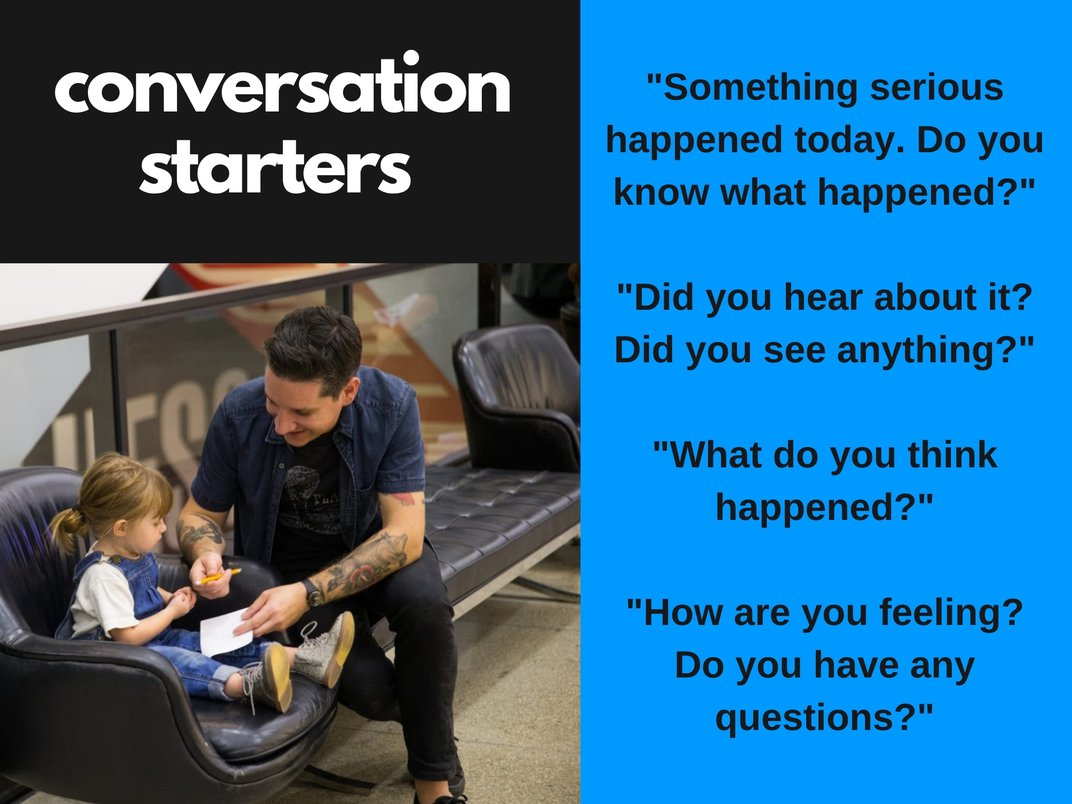 A series of conversation starters for families
