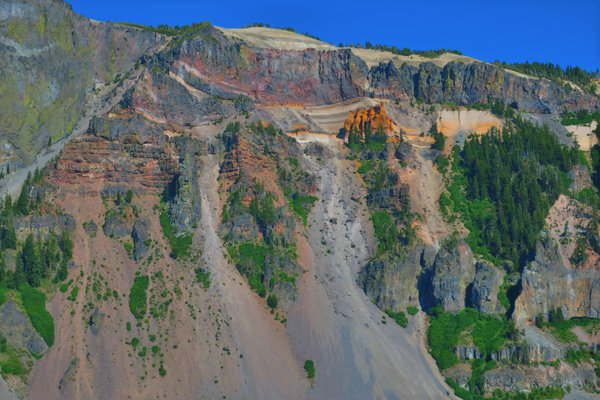 Pumice Castle at Crater Lake National Park thumbnail