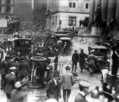 Anger and Anarchy on Wall Street