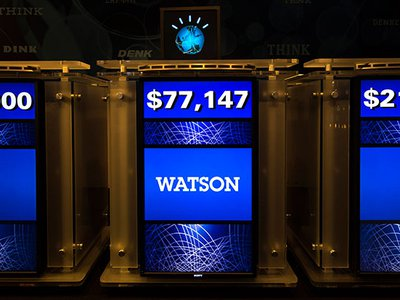 IBM and Mayo Clinic are applying game-show champ Watson's smarts to matching patients with the best clinical trials.