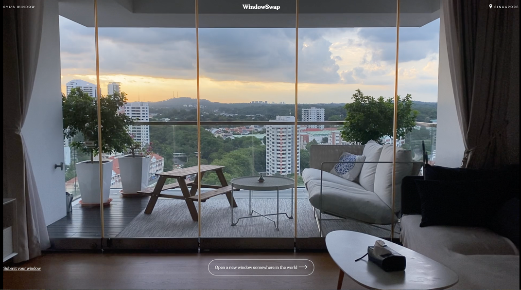 This Website Highlights Views Outside Windows Across the World