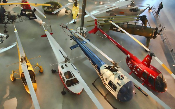 Helicopter collection at Udvar-Hazy thumbnail