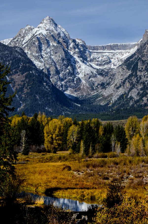 Tetons in the fall thumbnail