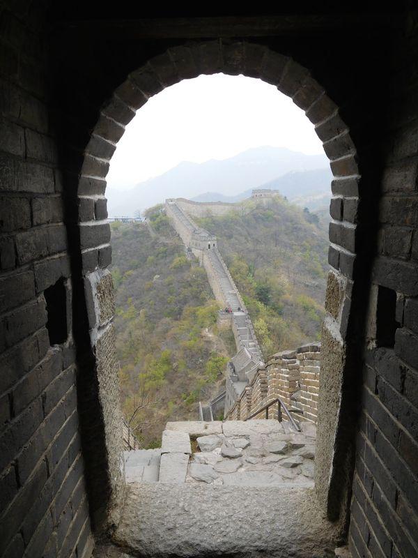 Great Wall of China through the Great Wall of China thumbnail