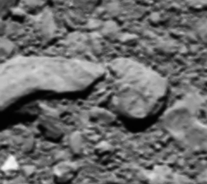 Rosetta Last Image