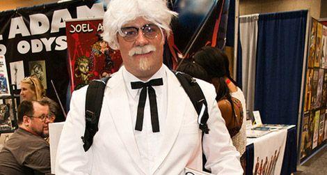 Colonel Sanders, a great Halloween costume idea