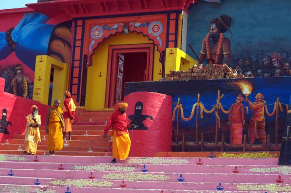 Saints at Kumbha. thumbnail