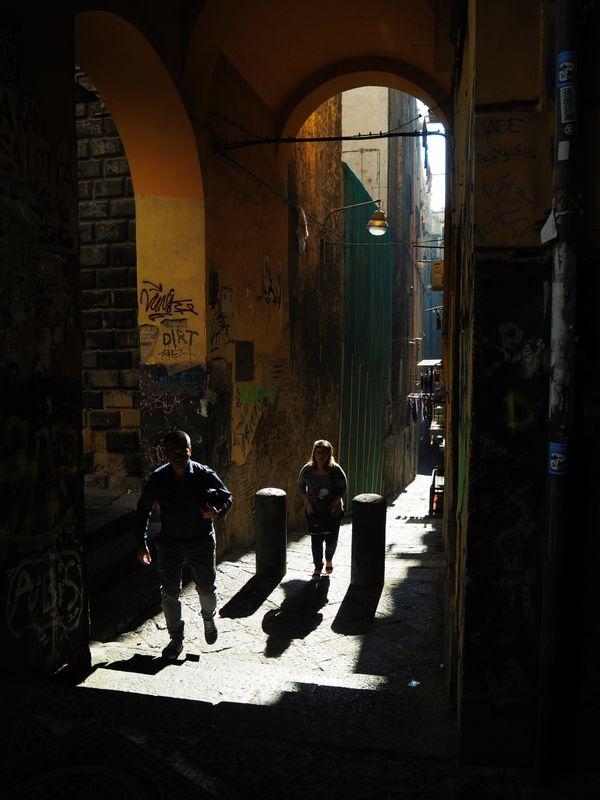 Street in Naples thumbnail