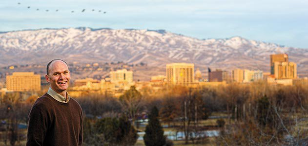 Anthony Doerr in Boise Idaho