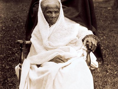 Harriet Tubman in 1911. The later years of her life are being preserved at a new national historical park that bears her name.