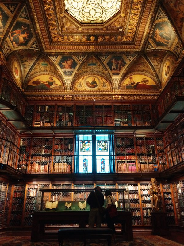 Inside the Morgan Library and Museum, New York City thumbnail
