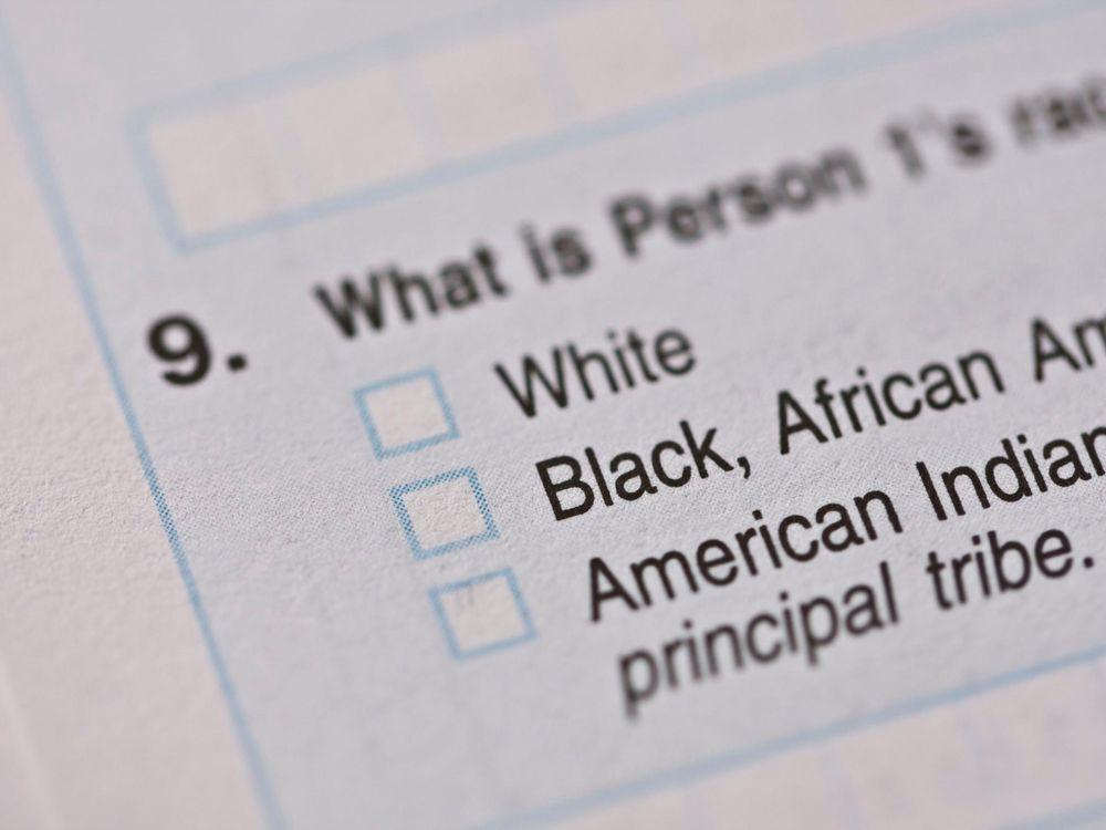 Census Race Form