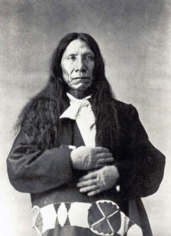 The great Lakota chief Red Cloud