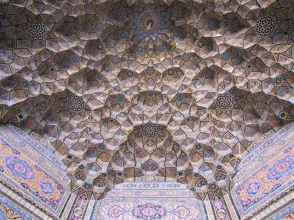 Nasir'ol Molk mosque ceiling thumbnail