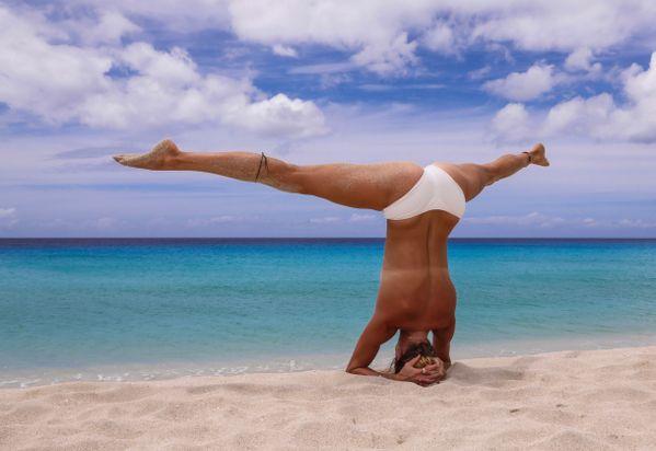 Beach yoga thumbnail