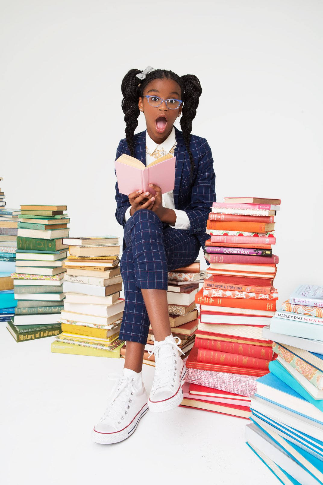 Marley Dias' Inspirational Goal to Collect Books About Girls of Color