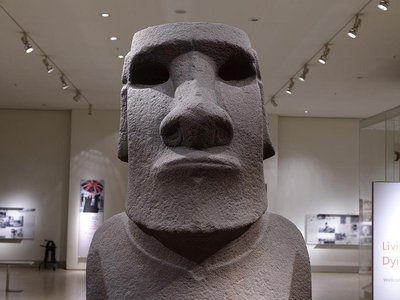 A Rapa Nui sculptor has offered to create an exact replica of the famed Easter Island head