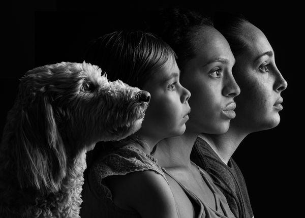 Sister Family Portrait thumbnail