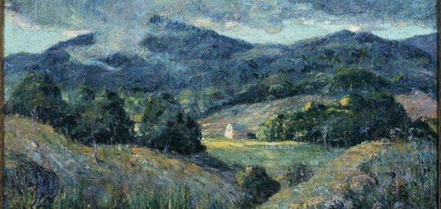 Approaching Storm, by Ernest Lawson, 1919-20