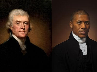 """Shannon LaNier, a TV news anchor, has complex feelings about being descended from Thomas Jefferson and Sally Hemings. """"He was a brilliant man who preached equality, but he didn't practice it. He owned people. And now I'm here because of it."""""""