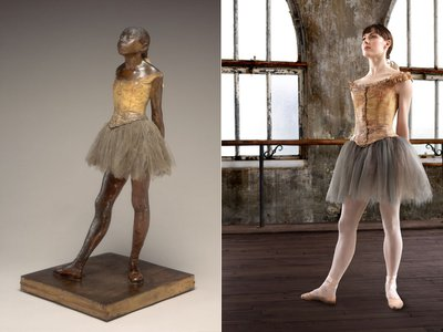 Edgar Degas' Study in the Nude of Little Dancer Aged Fourteen (Nude Little Dancer), c. 1878-1881 is the subject of a new show at the Kennedy Center starring Tiler Peck.