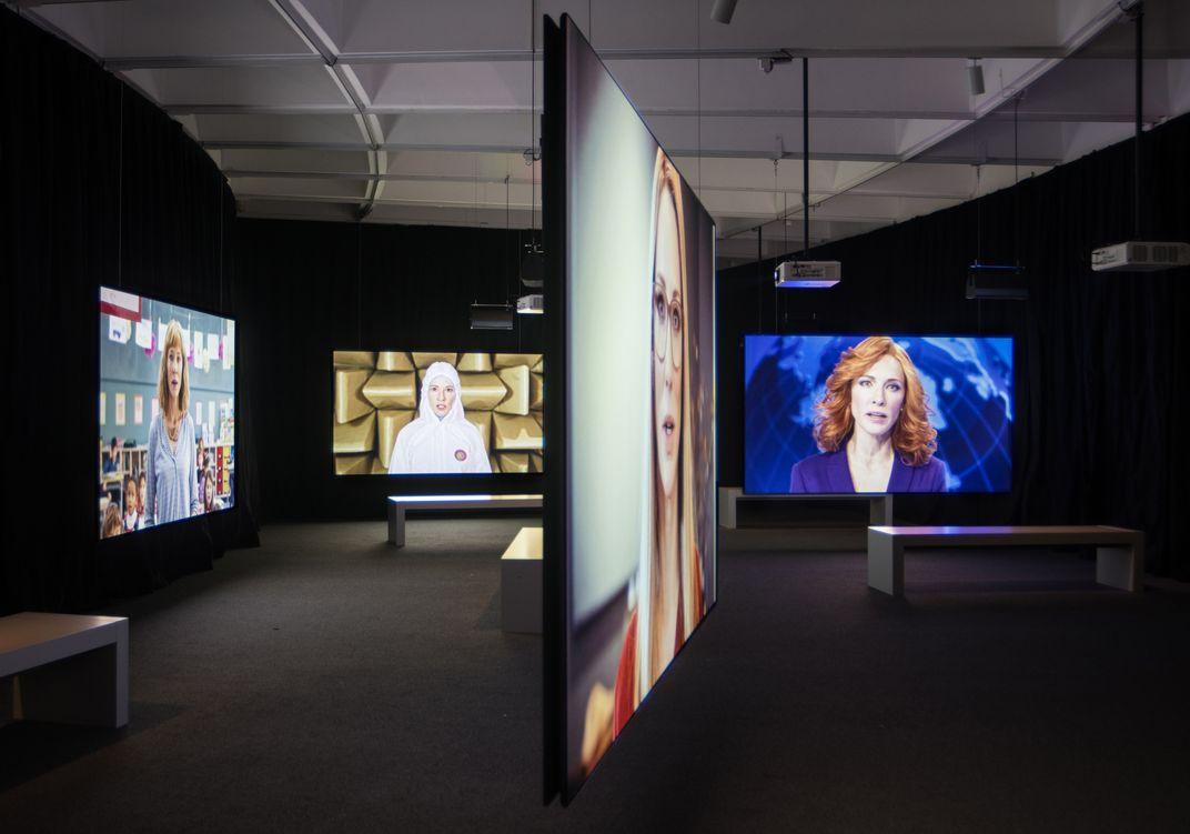Cate Blanchett Dons 13 Guises in This Daring Art Installation