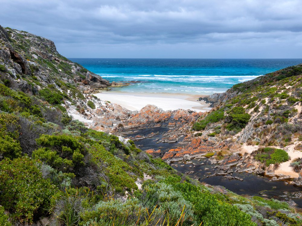 Secluded bay on Kangaroo Island, Australia