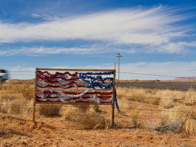Tinsel Flag. Northwestern Arizona
